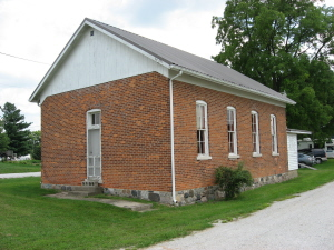 Acme One-Room Schoolhouse, West of North Manchester