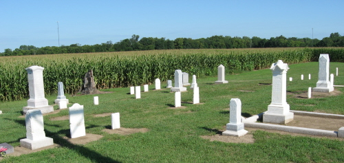 Krisher Cemetery, Chester Twp, Wabash County