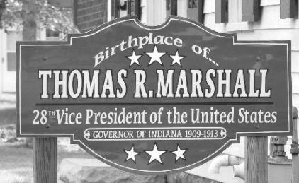 Thomas R Marshall Birthplace North Manchester Indiana