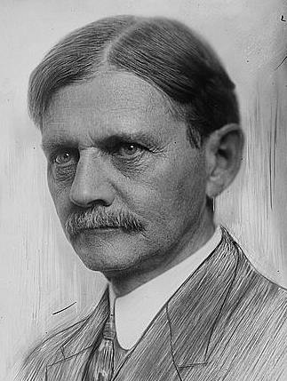 Thomas R. Marshall, 1912 drawing by Launer