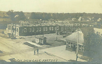 Cox Show Case Factory (under construction), North Manchester