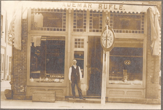 Rufle's Jewelry Store on Walnut Street, North Manchester