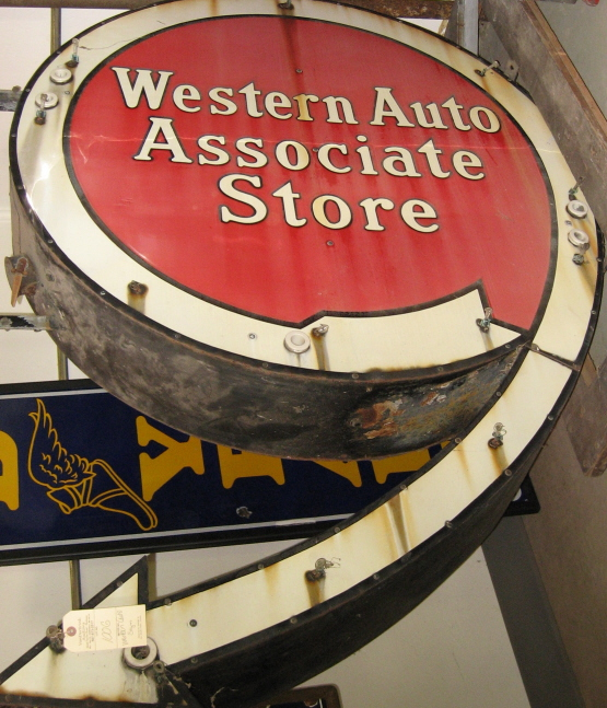 Western Auto Store Sign, North Manchester