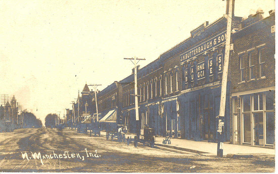 J.H. Butterbaugh & Son, East Main St., North Manchester