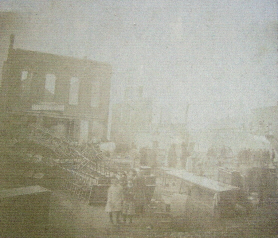Opera House Fire, 1885, North Manchester