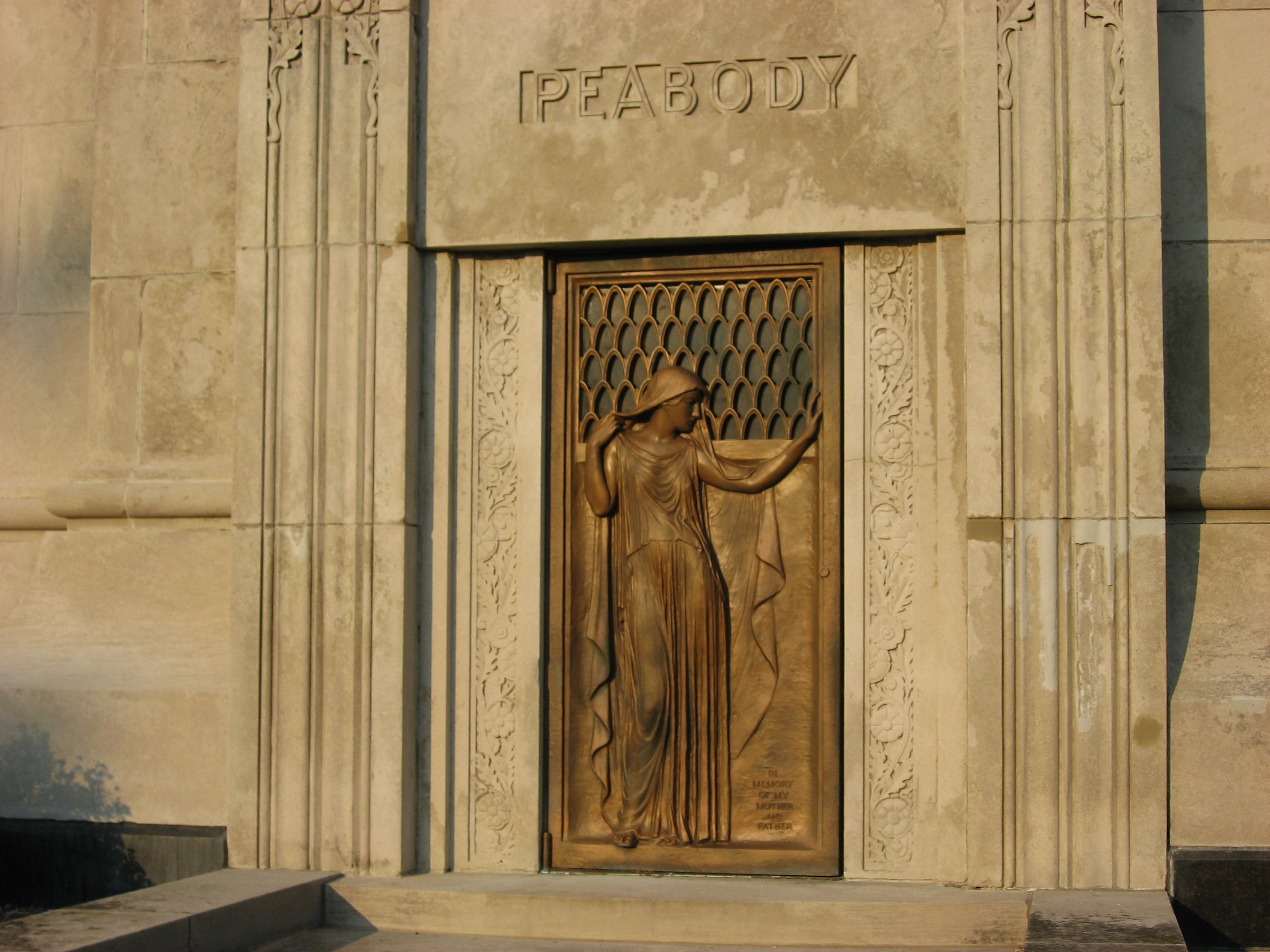 Peabody Tower - Bronze Door