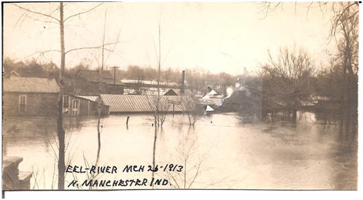 1913 Flood in North Manchester