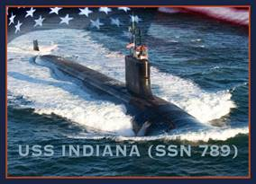 WASHINGTON (June 21, 2012) An artist rendering of the Virginia-class submarine USS Indiana (SSN 789). (U.S. Navy photo illustration by Stan Bailey/Released)